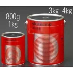 エスコ ESCO 1.0kg 耐熱塗料(半艶・白) EA942FB-4 [I050306]