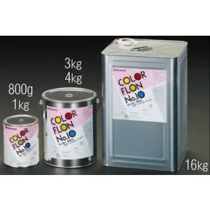 エスコ ESCO 1.0kg 耐熱塗料(艶あり・チタンイエロー) EA942FA-33 [I0503...