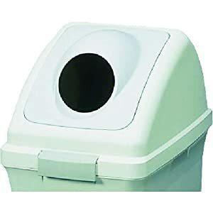 コンドル 山崎産業  リサイクルトラッシュ ECO-50(丸穴蓋) グレー YW133LOP2GR ...
