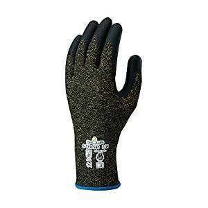 ショーワグローブ 耐切創手袋 ハガネコイル S-TEX581 Mサイズ S-TEX 581-M [A060301]の画像