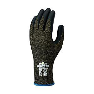 ショーワグローブ 耐切創手袋 ハガネコイル S-TEX581 Lサイズ S-TEX 581-L [A060301]の画像