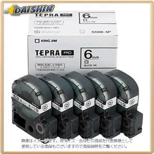キングジム  テプラテープ (5個入) [60236] SS6K-5P [F011408]