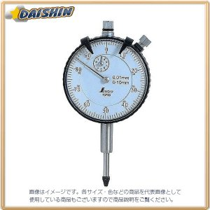 シンワ測定 ダイヤル ゲージ 標準型 0.01mm/10mm No.73750 [A030609]