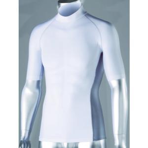 おたふく手袋 冷感・消臭 パワーストレッチ 半袖ハイネックシャツ JW-624 [A060510]