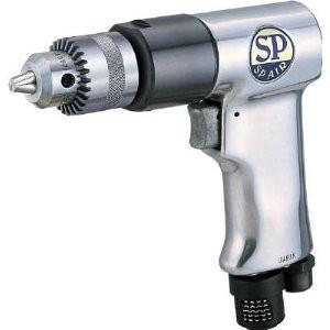 エスピーエアー  SP サイレンサー付エアードリル10mm SP-1522 [A230101]