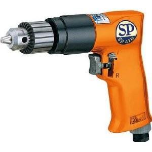 エスピーエアー  SP エアードリル10mm(正逆回転機構付) SPD-52 [A230101]