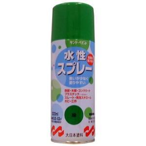 サンデーペイント 水性スプレー 300ml 緑 No.269570 [A190103]|daishinshop