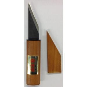 片山利器  在庫品 将一郎 サヤ入小刀 75mm K-100  450101   カッターナイフ|daishinshop