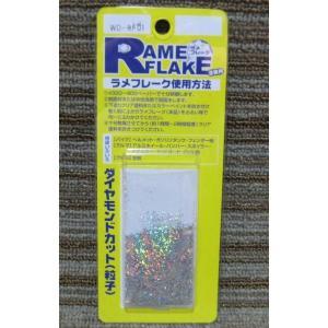 ラメフレーク 塗装用 ダイヤモンドカット(粒子) レインボーシルバー 5g|daisho-2