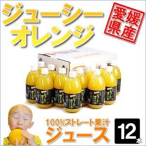 ジューシーオレンジ ジュース12本