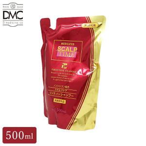 スカルプシャンプー 薬用 メンズ 詰め替え用 スカルプタイム 500ml   医薬部外品 頭皮 臭い ノンシリコン リンスインシャンプー 大容量 男性用