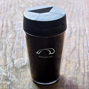 カフェ オリジナル シンプル カジュアル 英字 蓋付き / Bechamel Cafe ( ベシャメルカフェ ) タンブラー 350ml|daiwa-kigyo|02