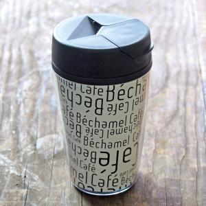 カフェ オリジナル シンプル カジュアル 英字 蓋付き / Bechamel Cafe ( ベシャメルカフェ ) タンブラー 350ml|daiwa-kigyo|05