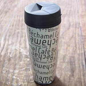 カフェ オリジナル シンプル カジュアル 英字 蓋付き / Bechamel Cafe ( ベシャメルカフェ ) タンブラー 550m|daiwa-kigyo|05