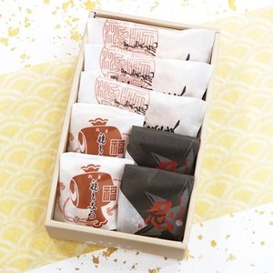 和菓子 詰め合わせ 忍術屋敷3個福もなか2個忍2個 お菓子 帰省土産 誕生日 プレゼント|daiya