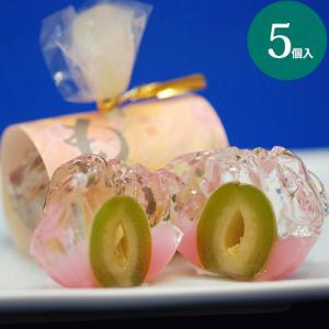 ももみ 5個入 お中元 ギフト 和菓子 お取り寄せ 桃 お菓子 お供え お盆 老舗|daiya