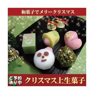 クリスマス 上生菓子 詰め合わせ 老舗 ギフト 和菓子 上生菓子10個入 お菓子 スイーツ 生菓子 高級 誕生日 プレゼント お取り寄せ お土産|daiya