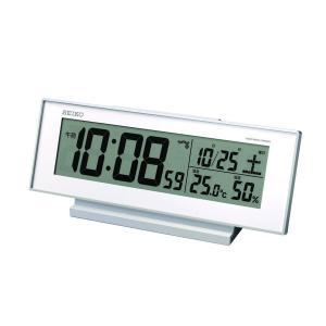 電波目覚し時計 SQ762W|daiyu8-y