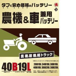 ブロード 農機・建機・車兼用バッテリー 40B19L|daiyu8-y