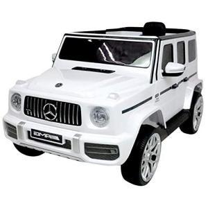 SIS 電動乗用カー メルセデス ベンツ G63 白 S306 ホワイト ゲレンデ 電動カー ラジコン Gクラス daiyu8-y