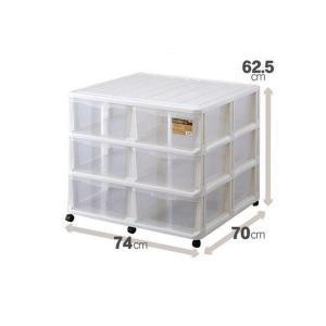 押入れ収納ケース 収納ボックス チェスト キャスター付き WM−306 daiyu8-y