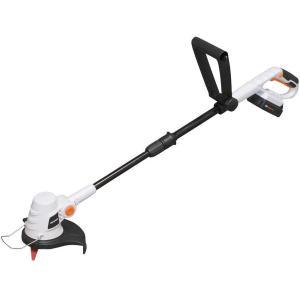 グラストリマー JGT230 ナイロン ブレード  充電式 コードレス 安全 充電器 バッテリー付き 草刈 除草 アイリスオーヤマ|daiyu8-y