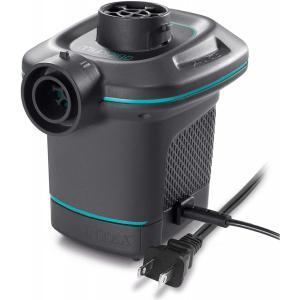 INTEX(インテックス) 空気入れ ポンプ AC エレクトリックポンプ 100V 66639 [日本正規品] 自動空気入れ  電動 電動空気入れ daiyu8-y