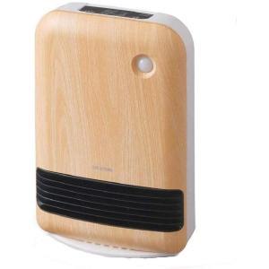 人感センサー付き大風量セラミックファンヒーター 木目調 JCH-12TD4-NTM (薄木目)の商品画像 ナビ