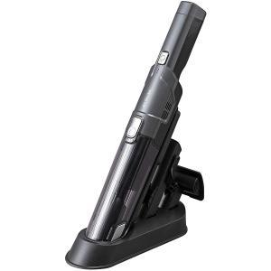 アイリスオーヤマ 掃除機 コードレス ハンディ クリーナー 車用 パワフル 吸引 コンパクト 軽量 500g スタンド 充電 IC-H50-B ブラック|ダイユーエイト PayPayモール店