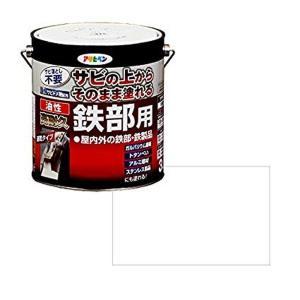 アサヒペン 油性高耐久鉄部用 白 3L|daiyu8