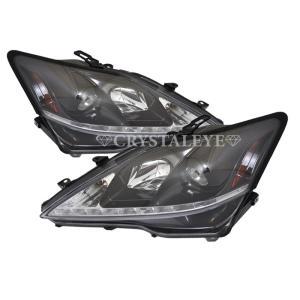 【IS ヘッドライト】 GSE20/21/25 前期/中期用 後期タイプ Lラインポジション内蔵ヘッドライト CRYSTALEYE(S171|daizens-shop