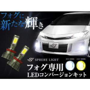 スフィアライト LEDフォグ H8/H11/H16 6000K SHKPE060|daizens-shop