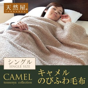 のびふわ毛布 暖かい ふわふわ 毛布 のびふわ毛布 シングル(約)縦200×横140