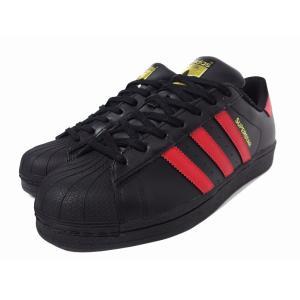 adidas SUPERSTAR BLACK RED アディダス スーパースター ブラック レッド 通販