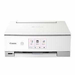 キヤノン PIXUSTS8430WH インクジェット複合機 PIXUS ホワイトパソコン:プリンター・スキャナー:複合機|damap