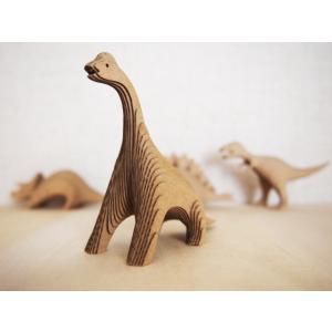 ペーパークラフト ダンボール  恐竜 DANSAURUS ブラキオサウルス(送料¥300 小型便配送可)|dambool-crafts