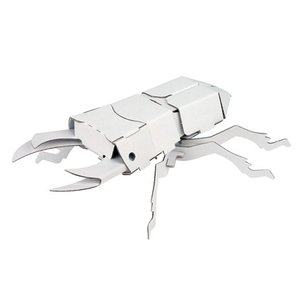 ダンボール 工作 キット クラフト 子供向け 自由研究 夏休み お土産 人気の昆虫3種セット|dambool-crafts|03