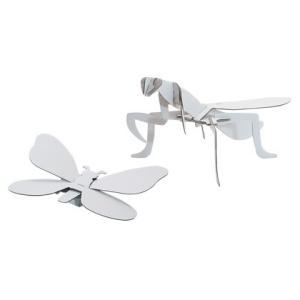 ダンボール 工作 キット クラフト 子供向け 自由研究 夏休み お土産 人気の昆虫3種セット|dambool-crafts|04