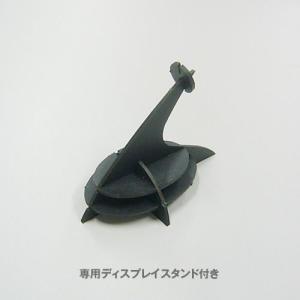 立体 ペーパークラフト ウラノ 3Dペーパーパズル クワガタムシ(ブラック) 【台座付き】  (送料¥300 小型便配送可)|dambool-crafts|02