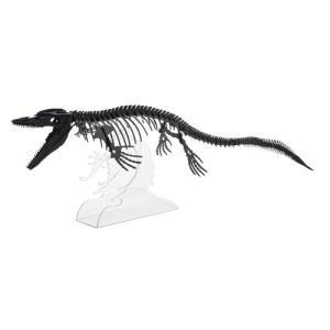 立体 ペーパークラフト ウラノ 恐竜 3Dペーパーパズル モササウルス (送料無料・小型便にて配送)|dambool-crafts