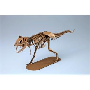 ペーパークラフト 恐竜  プレゼント 工作 立体パズル ティラノサウルス 俺の恐竜シリーズ 戦慄のティラノサウルス(送料無料・通常配送にて配送)|dambool-crafts
