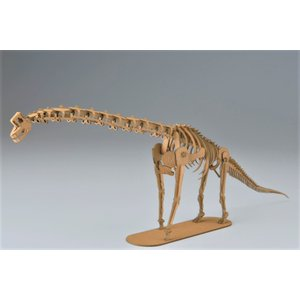 ペーパークラフト 恐竜  プレゼント 工作 立体パズル 大人向け ブラキオサウルス 俺の恐竜シリーズ 不動のブラキオサウルス(送料無料・通常配送にて配送)|dambool-crafts