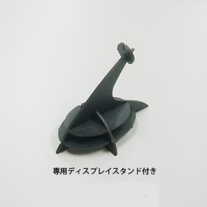立体 ペーパークラフト ウラノ 3Dペーパーパズル ジンベエザメ 【台座付き】(送料¥300 小型便配送可)|dambool-crafts|02