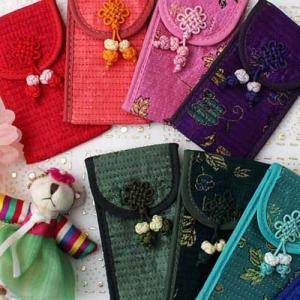 韓国雑貨 韓国伝統 韓国伝統雑貨 小物入れ 実用品 雑貨 財布 韓国 ハングル 母の日 ギフト|dami
