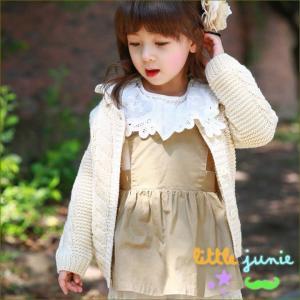 Lace Band Dress 韓国子供服 ワンピース 女の子 秋冬 フォーマル かわいい キッズ 女の子長袖 トップス dami
