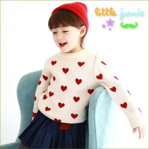 Love Love Knit 子供服 フォーマル かわいい キッズ 韓国子供服 女の子 秋 冬 90cm長袖 トップス dami