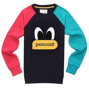 PANCOAT パンコート キャラクター トレーナー 長袖 クルーネック Tシャツ 長袖 トレーナー スウェット メンズ レディース T-シャツ カジュアル 男性用 女性用 dami