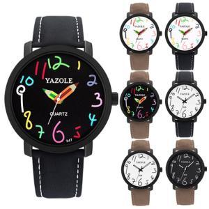 腕時計 ファッション レディース 男性 メンズウォッチ メンズ ウォッチ 腕時計 アナログ カジュアル ビッグフェイス仕様 デザイン 時計 dami