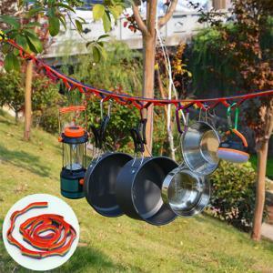 ハンギングチェーン ハンギングロープ ネビュラチェーン 紐 ロープ  キャンプ用品 小物整理 アウトドア BBQ テント タープ キャンプ用具 車中泊 物干し 乾燥 dami