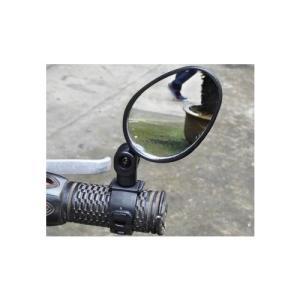 360度回転 自転車 ハンドルミラー バックミラー  サイドミラー dami
